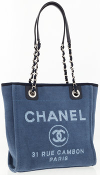 Chanel Denim Blue Shoulder Bag