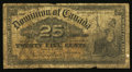 Canadian Currency: , DC-15a 25 Cents 1900. ...