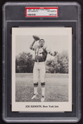Football Collectibles:Photos, 1965-66 Joe Namath Team Issue Picture Pack Photograph - PSA Authentic....