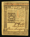 Colonial Notes:Pennsylvania, Pennsylvania October 1, 1773 50s Extremely Fine-About New.. ...