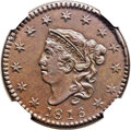 Large Cents, 1816 1C -- Improperly Cleaned -- NGC Details. AU. N-3, R.4. Our EACgrade XF40....