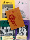 Books:Periodicals, [Literary Magazine]. Five Issues of Antæus. The Ecco Press,1975-1984. Publisher's original printed wrappers. Ve... (Total: 5Items)