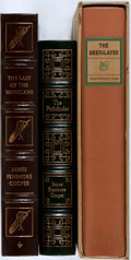 Books:Literature Pre-1900, [James Fenimore Cooper]. Three Books from Cooper's LeatherstockingTales including The Deerslayer, The Last of the Moh...(Total: 3 Items)