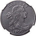 Large Cents, 1800 1C Overdate, First Hair Style -- Burnished -- NGC Details. AU. S-191, B-2, R.3. Our EAC Grade XF40. ...
