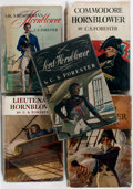 Books:Literature 1900-up, [C. S. Forester]. Five Works from the Horatio Hornblower Seriesincluding Captain Horatio Hornblower, Commodore Ho...(Total: 5 Items)
