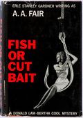 Books:Mystery & Detective Fiction, Erle Stanley Gardner (as A.A. Fair). SIGNED/INSCRIBED. Fish orCut Bait. New York: William Morrow, 1963. First e...