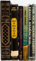 Books:Literature 1900-up, Ernest Hemingway. Group of Five books by Hemingway. Various publishers and years. Various editions. Octavos. All in publishe... (Total: 5 Items)