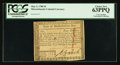 Colonial Notes:Massachusetts, Massachusetts May 5, 1780 $4 Cut Cancel PCGS Choice New 63PPQ.. ...