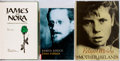 Books:Biography & Memoir, [James Joyce]. Edna O'Brien. SIGNED. Three First Editions AboutJames Joyce and Ireland, Two of Which are Signed by the Au...(Total: 3 Items)