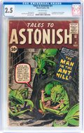 Silver Age (1956-1969):Superhero, Tales to Astonish #27 (Marvel, 1962) CGC GD+ 2.5 Off-whitepages....