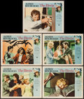 """Movie Posters:Hitchcock, The Birds (Universal, 1963). Lobby Cards (5) (11"""" X 14""""). Hitchcock.. ... (Total: 5 Items)"""