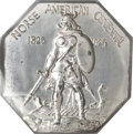 Commemorative Silver, 1925 Norse American Medal, Large Format, Silvered, MS64 NGC....