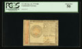 Colonial Notes:Continental Congress Issues, Continental Currency January 14, 1779 $80 PCGS About New 50.. ...