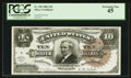 Large Size:Silver Certificates, Fr. 296 $10 1886 Silver Certificate PCGS Extremely Fine 45.. ...