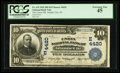 National Bank Notes:New Jersey, Atlantic City, NJ - $10 1902 Date Back Fr. 619 The Union NB Ch. # (E)4420. ...
