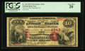 National Bank Notes:New Jersey, Plainfield, NJ - $10 1875 Fr. 416 The City NB Ch. # 2243. ...