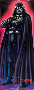 """Movie Posters:Science Fiction, Return of the Jedi (Sales Corp. of America, 1983). Door Panel (26""""X 70""""). Science Fiction.. ..."""