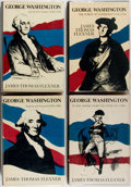 Books:Americana & American History, [George Washington]. Four Books on the Life of George Washington byauthor James Thomas Flexner. Little Brown and Company, 1... (Total:4 Items)