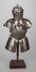 Miscellaneous, A DECORATIVE COMPOSITE SUIT OF ARMOR. Early 20th century. 53 incheshigh x 19-1/2 inches wide (134.6 x 49.5 cm). ...
