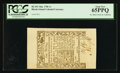 Colonial Notes:Rhode Island, Rhode Island May 1786 1s PCGS Gem New 65PPQ.. ...
