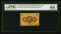 Fractional Currency:First Issue, Fr. 1228 5¢ First Issue PMG Choice Uncirculated 64 EPQ.. ...