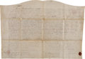Books:Americana & American History, 18th and 19th Century Delaware Land Indentures (10),... (Total: 10Items)