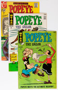 Bronze Age (1970-1979):Cartoon Character, Popeye Savannah pedigree Group (Charlton/King Features, 1966-77)Condition: Average VF+.... (Total: 36 Comic Books)