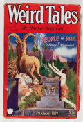 Pulps:Horror, Weird Tales - March '29 (Popular Fiction, 1929) Condition: VG+....