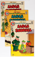 Bronze Age (1970-1979):Cartoon Character, Sarge Snorkel #1-17 Group - Savannah pedigree (Charlton, 1973-76)Condition: Average VF/NM.... (Total: 17 Comic Books)