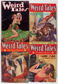 Pulps:Horror, Weird Tales Group (Popular Fiction, 1931-33) Condition: AverageGD/VG.... (Total: 4 Comic Books)