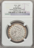 Bust Half Dollars: , 1814 50C -- Improperly Cleaned -- NGC Details. XF Details. O-103.NGC Census: (33/391). PCGS Population (72/368). Mintage:...
