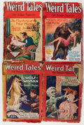 Pulps:Horror, Weird Tales Group (Popular Fiction, 1927-30) Condition: AverageFR.... (Total: 8 )