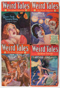 Pulps:Horror, Weird Tales Group (Popular Fiction, 1930-33) Condition: AverageVG.... (Total: 6 Comic Books)