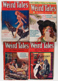 Pulps:Horror, Weird Tales Group (Popular Fiction, 1929-34) Condition: AverageGD.... (Total: 7 )