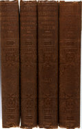 Books:Travels & Voyages, Charles Wilkes. Narrative of the United States Exploring Expedition. G. P. Putnam & Co., 1856. Volumes I, III, I... (Total: 4 Items)