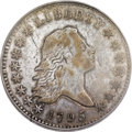 Early Half Dollars, 1795 50C 2 Leaves VF20 PCGS. O-116, R.4....