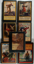 Books:Literature 1900-up, [N.C. Wyeth, Louis Rhead] Group of Seven Books Illustrated by N.C.Wyeth and Louis Rhead. New York: Scribners, 1909-1929. Qu...(Total: 7 Items)