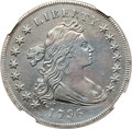 Early Dollars, 1796 $1 Small Date, Large Letters -- Improperly Cleaned -- NGCDetails. VF. B-4, BB-61, R.3....