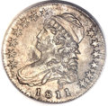 Bust Half Dollars, 1811 50C Small 8 MS64 PCGS. O-110, R.1....