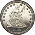 Proof Seated Quarters, 1883 25C PR66 PCGS....