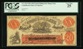 Confederate Notes:1861 Issues, XX-1/C1 $20 Female Riding Deer (FRD) Bogus Note.. ...