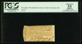 Colonial Notes:Rhode Island, Lottery Ticket, Providence, RI - Meeting House circa 1775. PCGSApparent About New 53.. ...