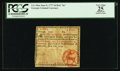 "Colonial Notes:Georgia, Georgia June 8, 1777 $4 Red ""In"" PCGS Apparent Very Fine 25.. ..."