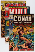 Bronze Age (1970-1979):Miscellaneous, Bronze Age Robert E. Howard Related Comics Group (VariousPublishers, 1970-78) Condition: Average VG.... (Total: 122 ComicBooks)