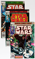 Bronze Age (1970-1979):Science Fiction, Star Wars Group (Marvel, 1977-86) Condition: Average VF/NM.... (Total: 38 Comic Books)