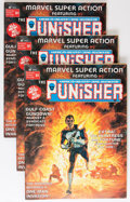 Magazines:Superhero, Marvel Super Action #1 The Punisher Group (Marvel, 1976) Condition:Average VF+.... (Total: 5 Comic Books)