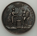 Betts Medals, Betts-603. 1782 Holland Receives Adams. Silver. XF....