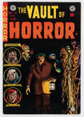 Golden Age (1938-1955):Horror, Vault of Horror #38 Don/Maggie Thompson Collection pedigree (EC,1954) Condition: FN/VF....