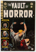 Golden Age (1938-1955):Horror, Vault of Horror #39 Don/Maggie Thompson Collection pedigree (EC,1954) Condition: FN....