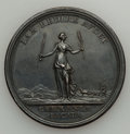 Betts Medals, Betts-446. 1763 Messenger of Peace, Treaty of Hubertusburg. Silver.XF....